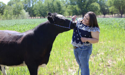 Erica Garcia is committed to promoting the agriculture industry