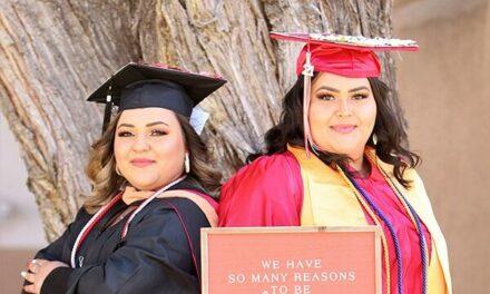 Belen sisters achieve academic success