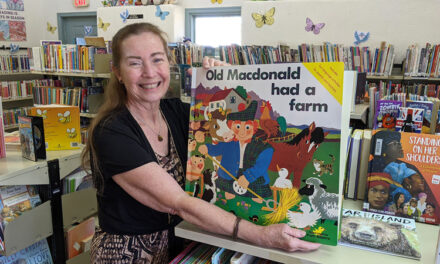 New Bosque Farms librarian has a lot of ideas for future