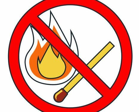 Open burning is banned in Valencia County