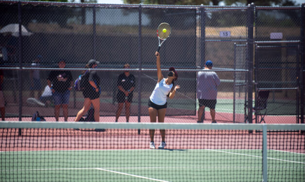 Tennis: Belen duo finishes second in girls doubles