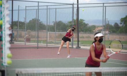Tennis: Belen takes two, Valencia takes one district title