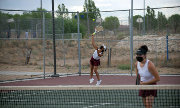 Belen Eagles win district titles in boys and girls tennis