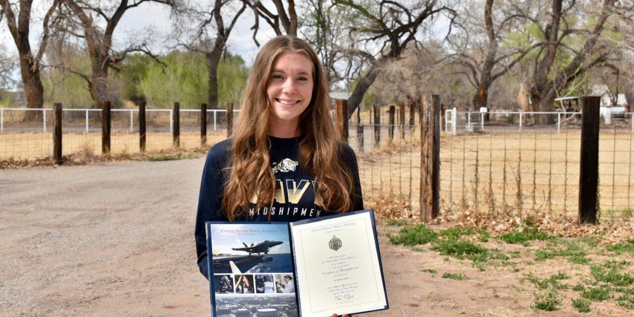 Los Lunas resident Savanna Lewis signs to play at Navy