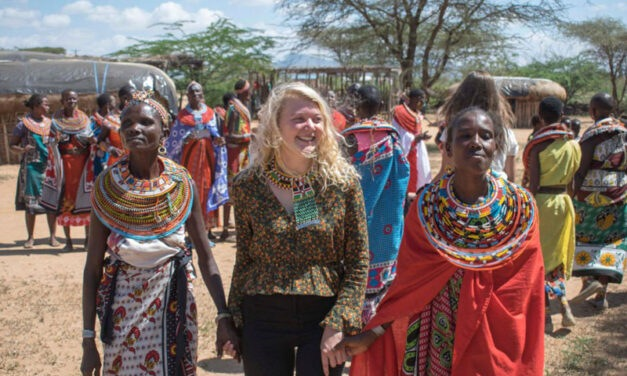 LLHS foreign exchange student learns values of life as she volunteers in Kenya