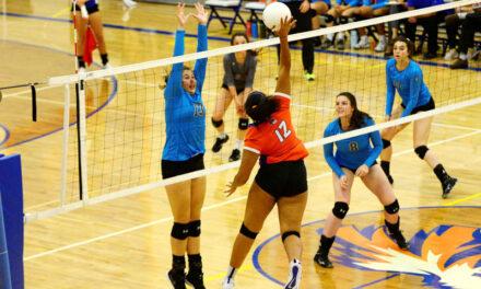 Los Lunas High School volleyball loses to Cleveland