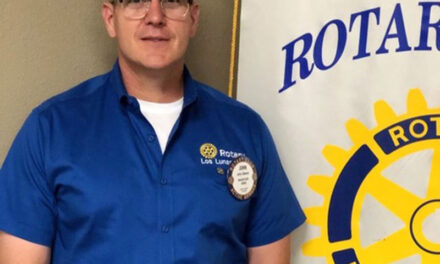 John Chavez inducted as Los Lunas Rotary president