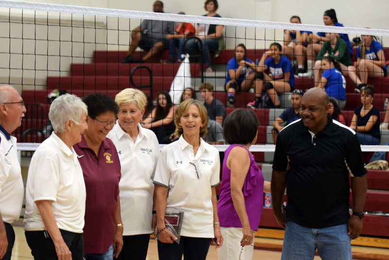 Local Hall of Honor coach recognized at Volleyball All Star Game