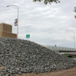 Dedication of the new bridge in Los Lunas; request for donations