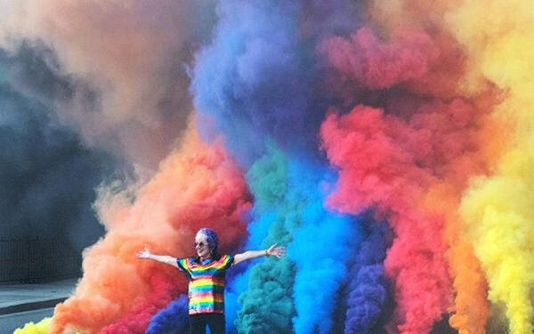 """Judy Chicago's """"Diamonds in the Sky"""" Smoke Sculpture, and other art district events scheduled in Belen"""