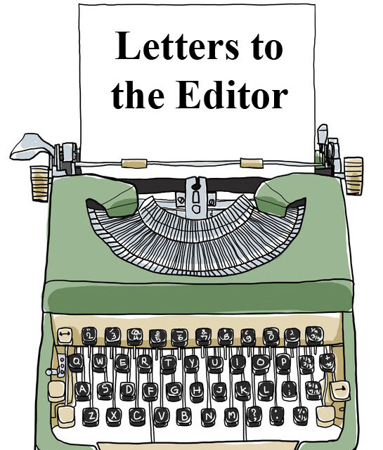 Letters to the Editor (Sept. 16)