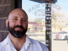 Main Street Muscle owner Chris Saiz, Los Lunas