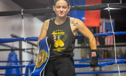 Bosque Farms resident Lindenmuth chases UFC dreams