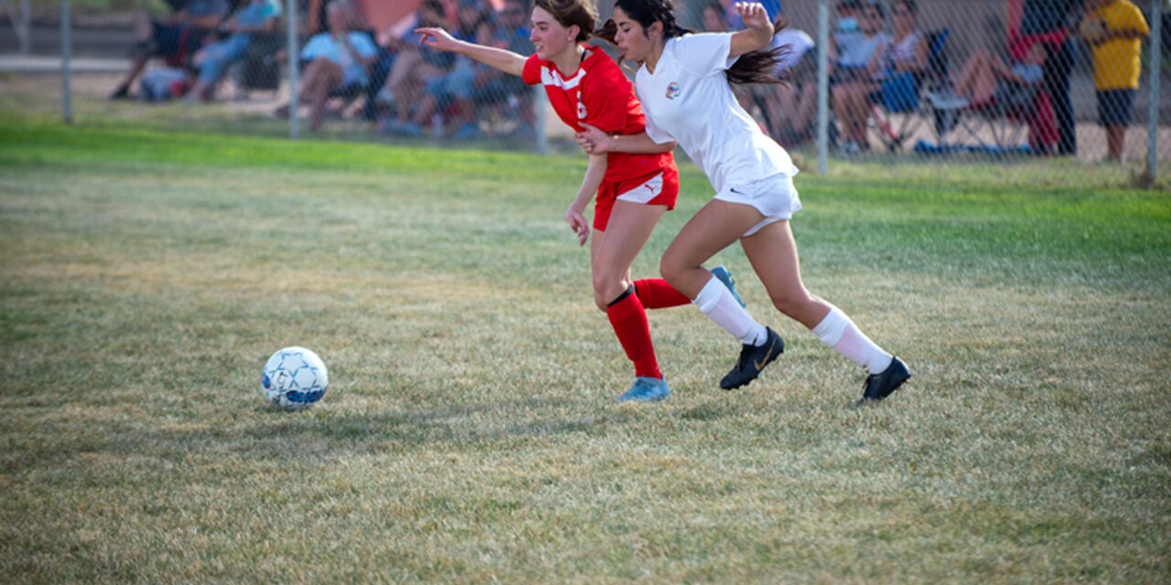 Valencia and Los Lunas battle in boys and girls soccer