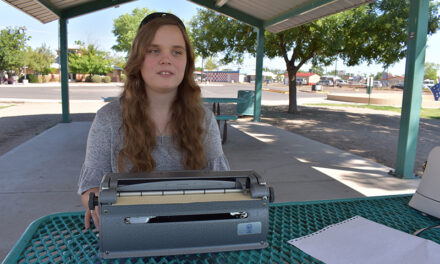 Local girl competed in national Braille Challenge; love for writing