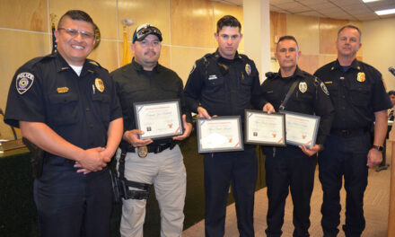 Belen police officers commended for saving two lives