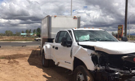 Vehicle transporting prisoners involved in crash