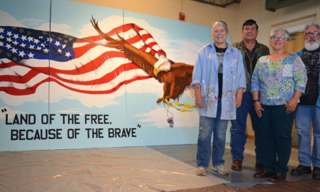 Local Artists Honor Veterans with Mural
