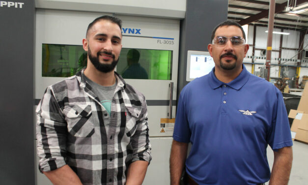 Sisneros Bros. Manufacturing recognized as Star Client