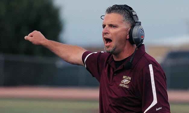 Belen football head coach resigns