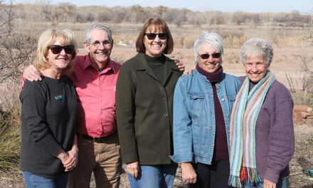 Friends of Whitfield awarded for their volunteer work