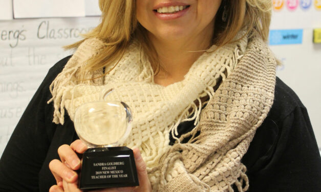 Goldberg honored as Top 10 teacher