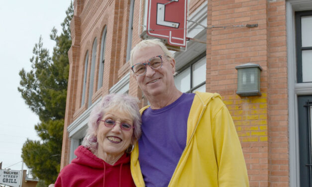 Judy Chicago & Donald Woodman discuss the future; reminisce about their time in the Hub City