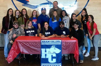 LLHS softball player signs letter-of-intent to play at Hiram College