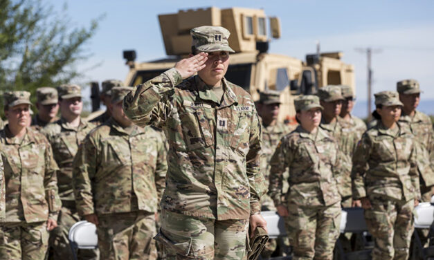 New Mexico's 919th Military Police Company deploys in support of Operation Allies Welcome